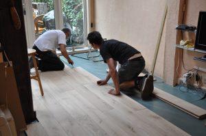 houten vloer leggen houten ondervloer