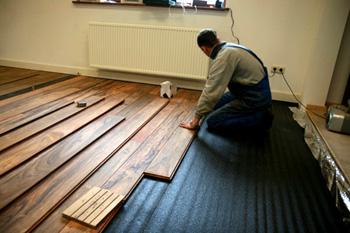Ondervloer Eiken Vloer : Houten vloer leggen op houten ondervloer eiken vloeren